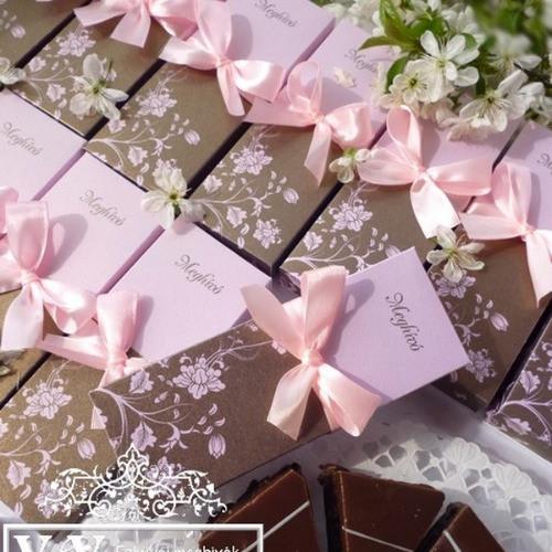 Dobozos esküvői meghívók nagy választékban www.dreamflowersmeghivok.hu