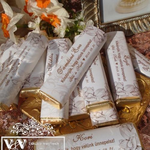 Ehető esküvői köszönetajándékok nagy választékban: www.dreamflowersmeghivok.hu