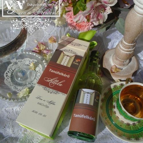 Álomszép Tanúfelkérők és Koszorúslány felkérők megfizethető áron www.dreamflowersmeghivok.hu