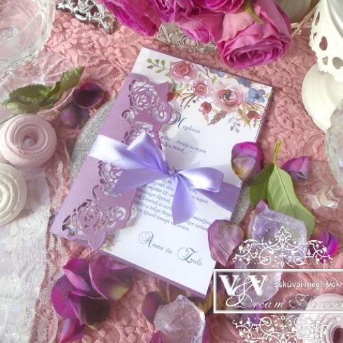 Esküvői meghívók és köszönetajándékok nagy választékban: www.dreamflowersmeghivok.hu - esküvői piactér