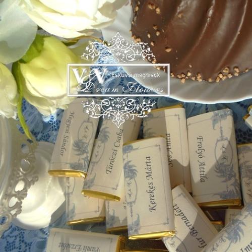 Csoki esküvői köszönetajándékok nagy választékban: www.dreamflowersmeghivok.hu