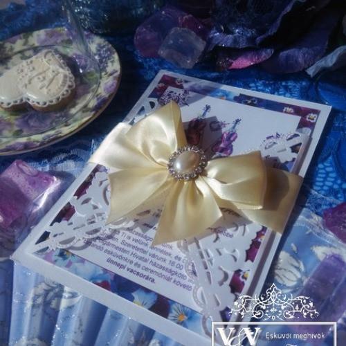 Lézervágott esküvői meghívók sokféle színben és stílusban: Lézervágott esküvői meghívók sokféle szín