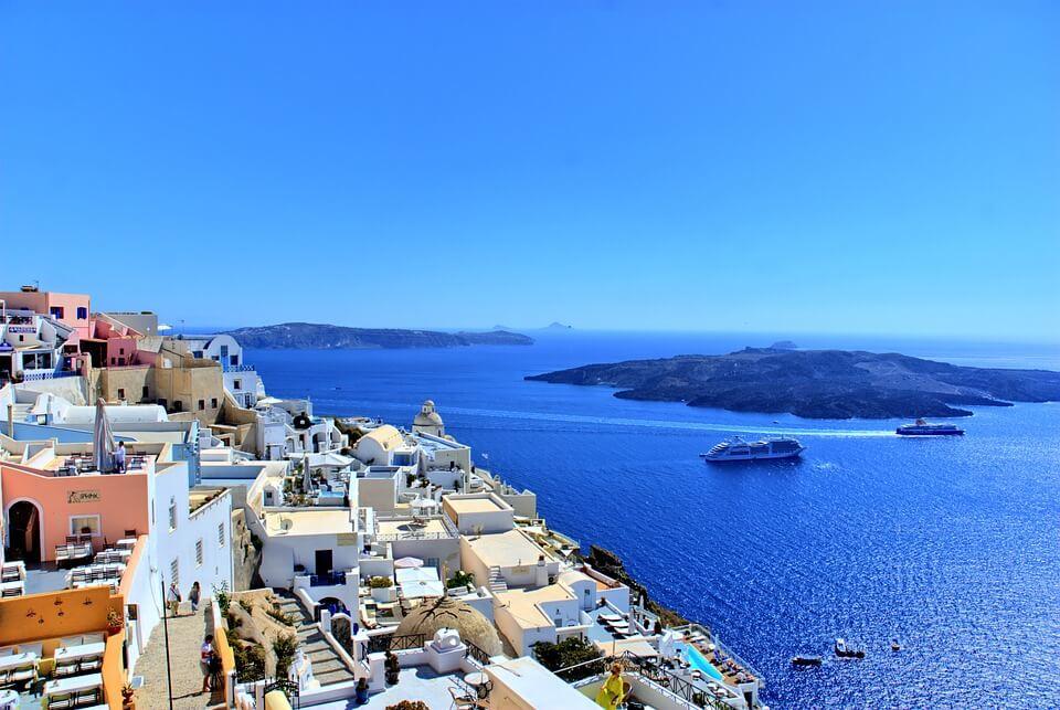 Santorini nászút