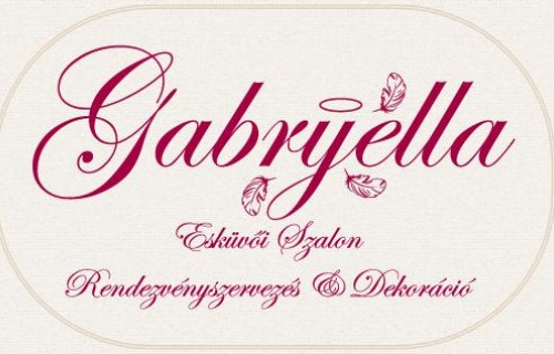 Gabryella Esküvői Szalon, Rendezvényszervezés és Dekoráció - esküvői szolgáltató