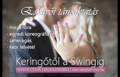 Herédi Otilia/DSM-Táncoktatás és Fitness - esküvői szolgáltató