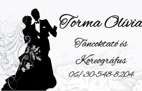 Torma Olívia táncoktató - esküvői szolgáltató