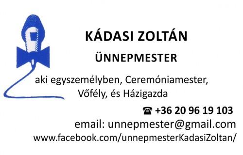 Kádasi Zoltán (Lagzi-Zolcsy) - esküvői szolgáltató