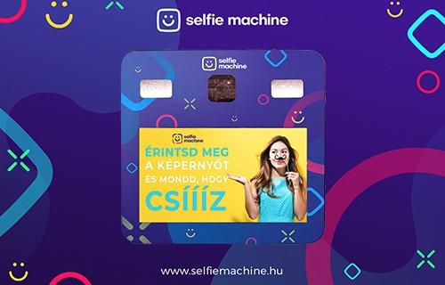 Selfie Machine - esküvői szolgáltató