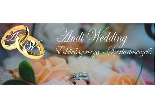 Andi Wedding Esküvőszervező – Szertartásvezető - esküvői szolgáltató