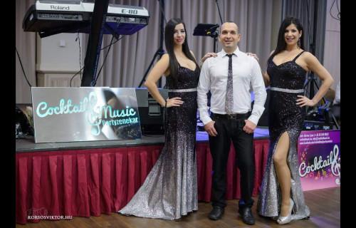 Cocktail Music Partyzenekar - esküvői szolgáltató