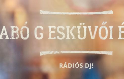 Szabó Gábor Rádiós Dj - esküvői szolgáltató