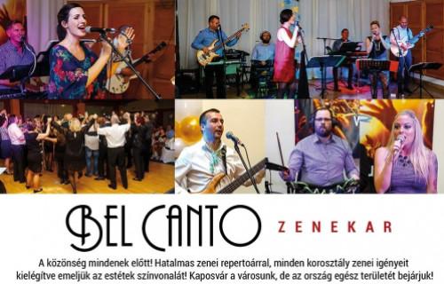 Bel Canto Zenekar - esküvői szolgáltató