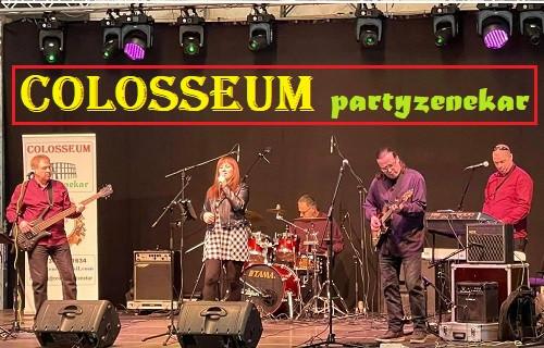 Colosseum partyzenekar - esküvői szolgáltató