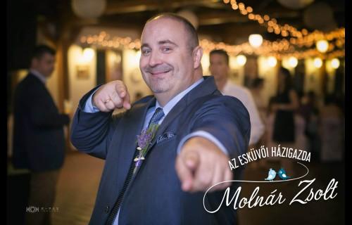 Molnár Zsolt, esküvői házigazda - esküvői szolgáltató