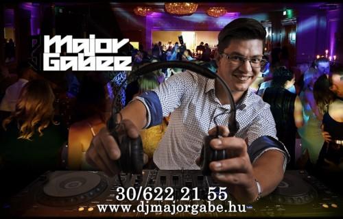 DJ Major Gabe - esküvői szolgáltató