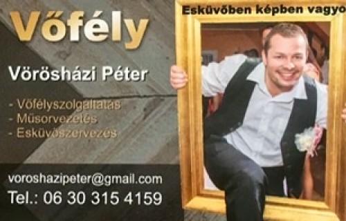 Vőfély Peti - esküvői szolgáltató