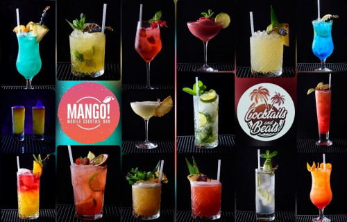 MANGO - Mobile Cocktail Bar - esküvői szolgáltató