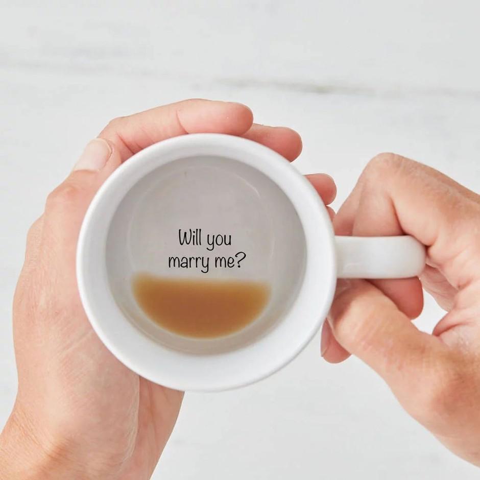 eljegyzés kávé
