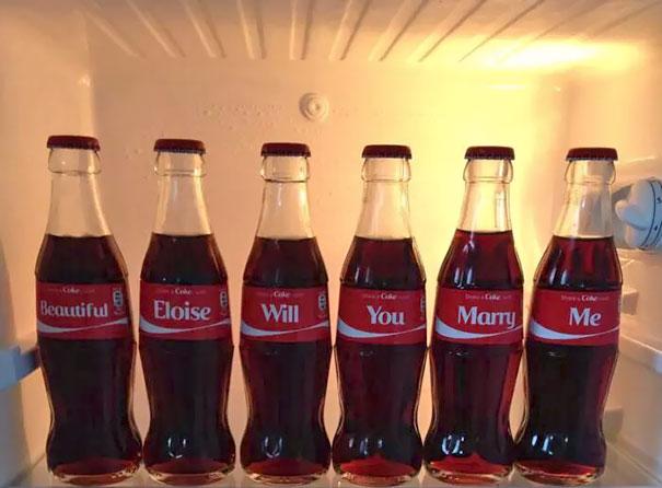eljegyzés coca cola