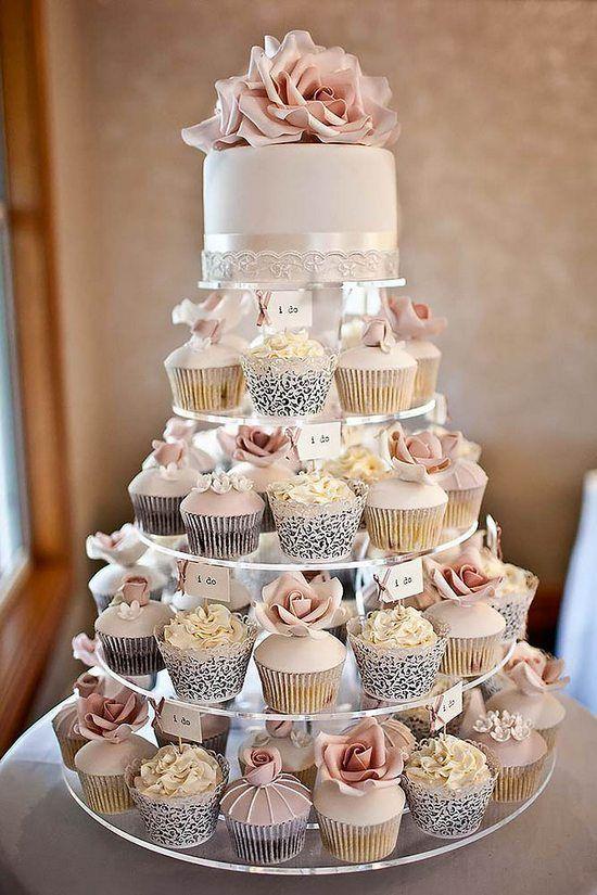 cupcake esküvő
