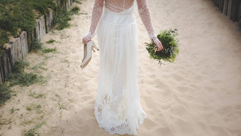 esküvő bevonulás