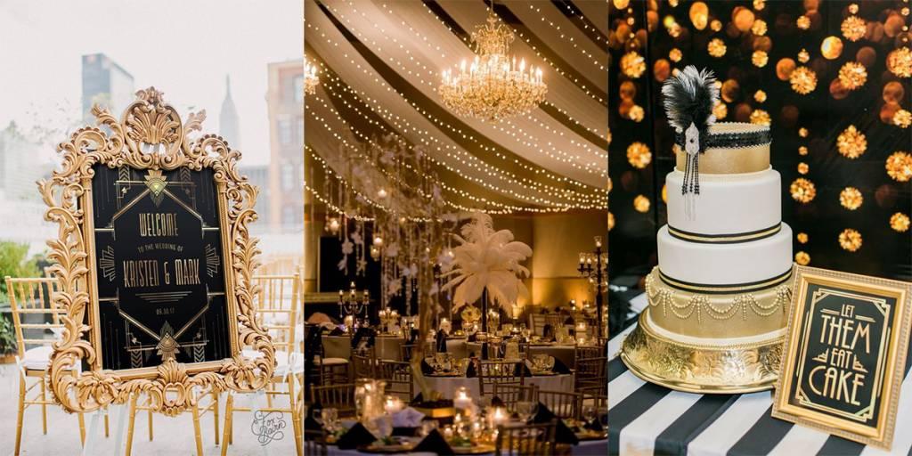 Gatsby témaesküvő