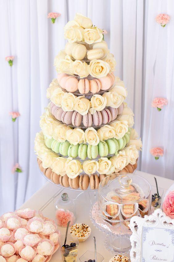 macaron esküvő