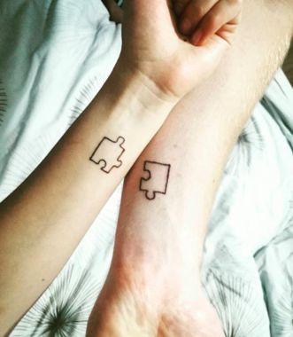 páros tetoválás