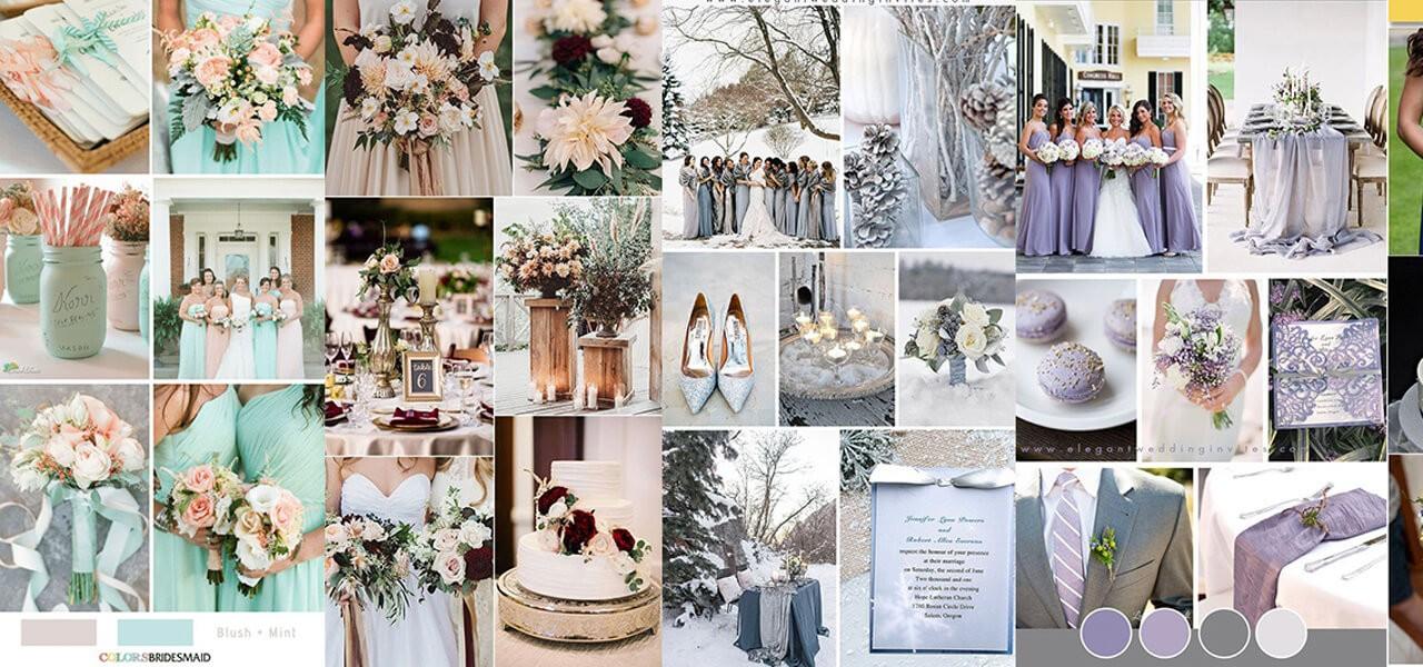 Esküvő színek