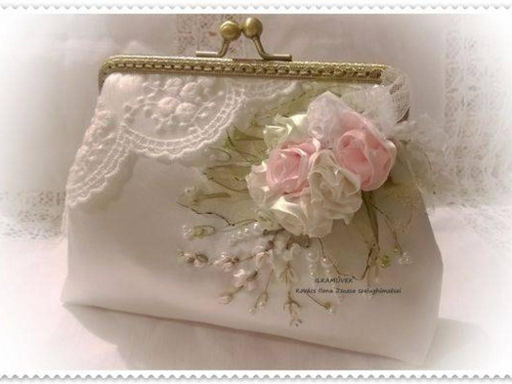 Esküvői kistáska, szütyő előnyei