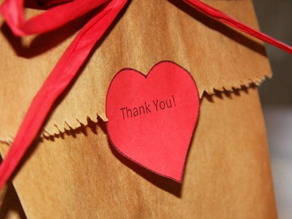 Köszönetnyilvánítás esküvő után