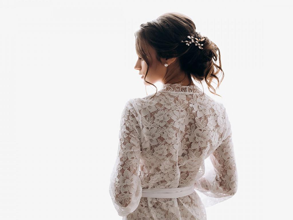 Csipke menyasszonyi ruha - Az örök adu ász