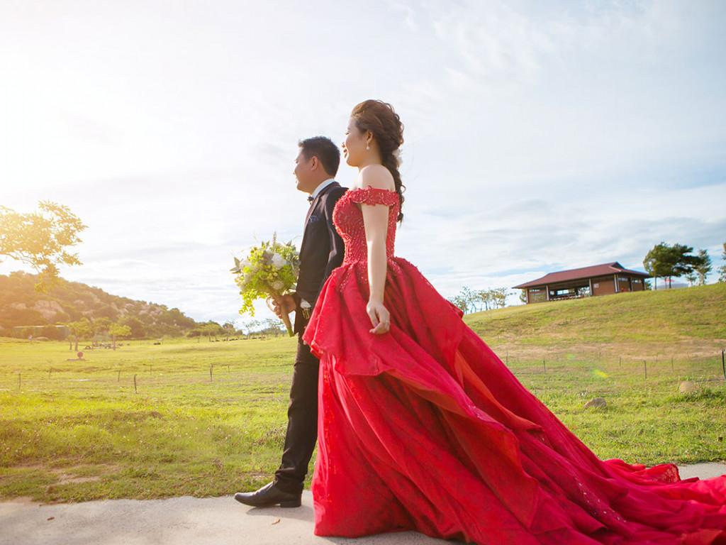 Színes menyasszonyi ruha ajánló a visszafogottól a merészig